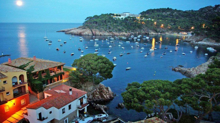 The beaches of Costa Brava in Spain